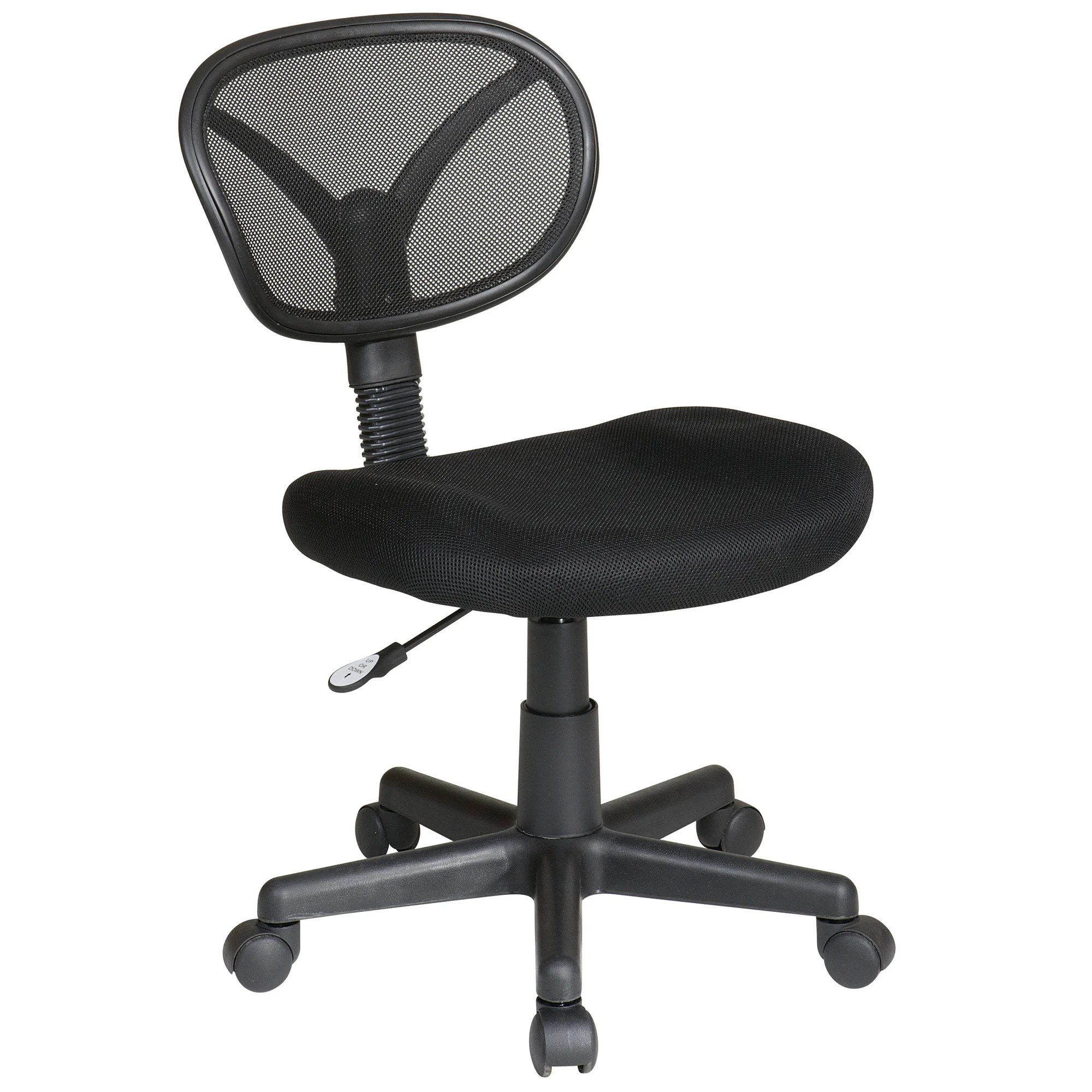 office chair overstock dentist star products work smart breathable screen back