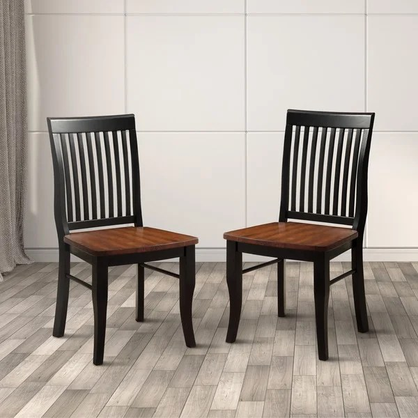 antique oak dining chairs posture seat for couch shop nora traditional set of 2 by foa
