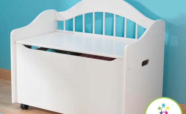 Shop Kidkraft Limited Edition White Toy Box Free
