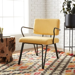 accent chair yellow lafuma parts buy chairs living room online at overstock com carson carrington palm springs upholstery