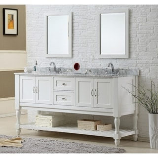 vintage bathroom vanities & vanity cabinets for less | overstock