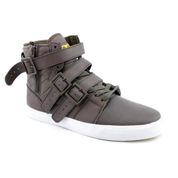 Radii Men' 'straight Jacket Vlc' Leather Casual Shoes Size 7 - Free Shipping Today