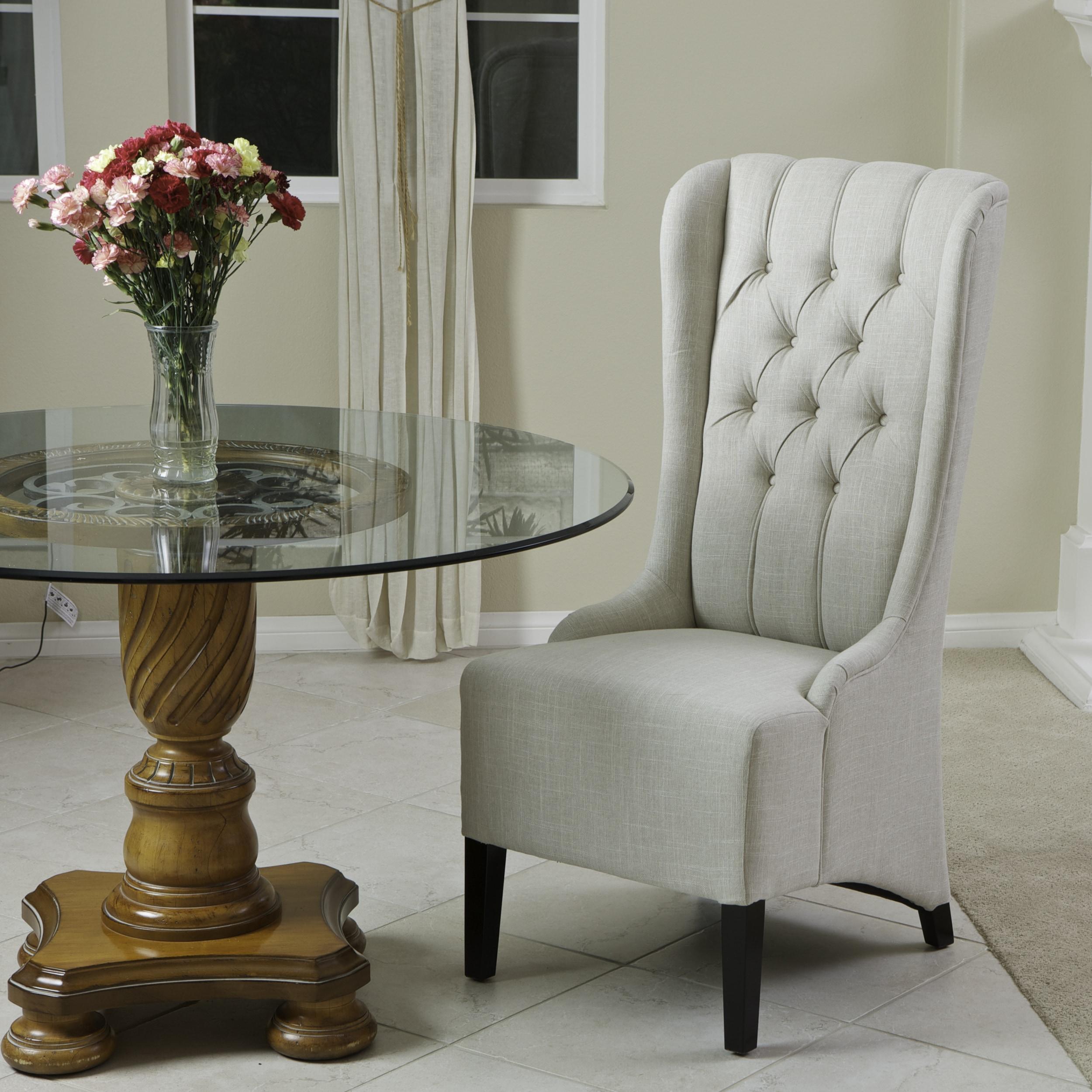 high back grey velvet dining chairs straight chair for elderly 14754731 overstock