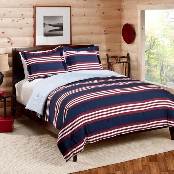 Shop Tommy Hilfiger Kempton Comforter Set Free Shipping