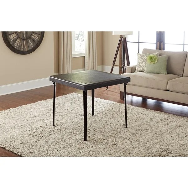 Cosco Folding Espresso Wood Table  Free Shipping Today