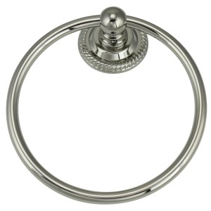 Jado 818 Series Platinum Nickel Towel Ring