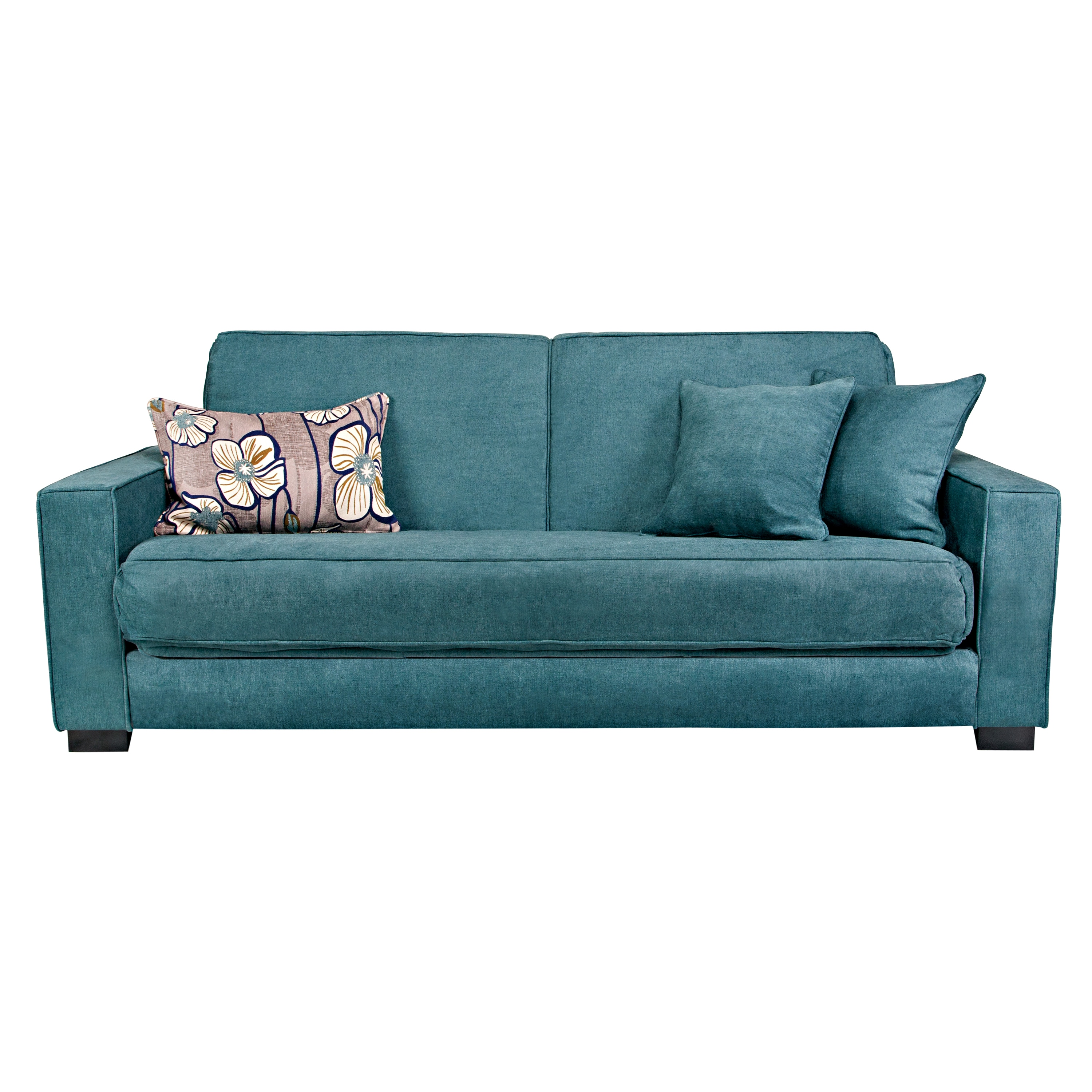 grayson sofa bed l shape set designs in hyderabad angelo home parisian teal blue convert a couch