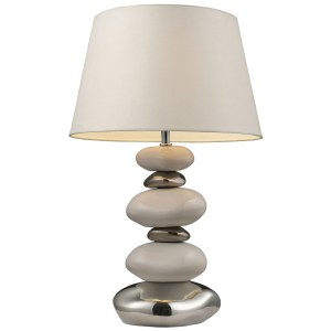 Dimond Lighting LED 1-light Table Lamp in White and Chrome Finish
