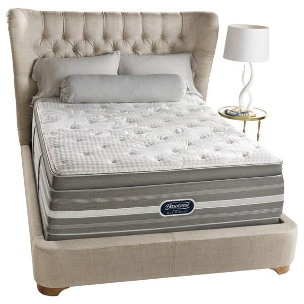 Beautyrest Recharge World Class Rekindle Plush Super Pillow Top California Kingsize Mattress
