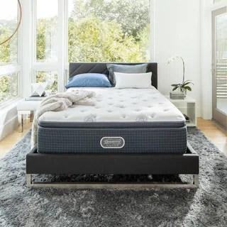 Beautyrest Silver Maddyn Luxury Firm Pillow Top Full Size Mattress Set