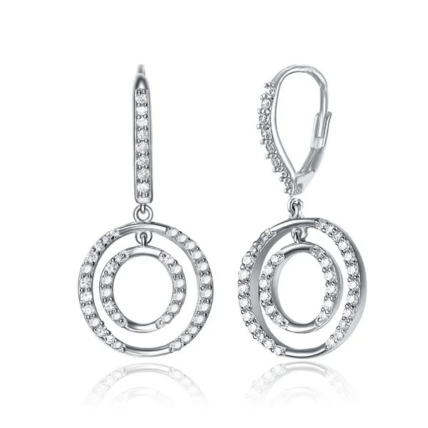 Shop Collette Z Sterling-Silver Cubic-Zirconia Euro-Clasp