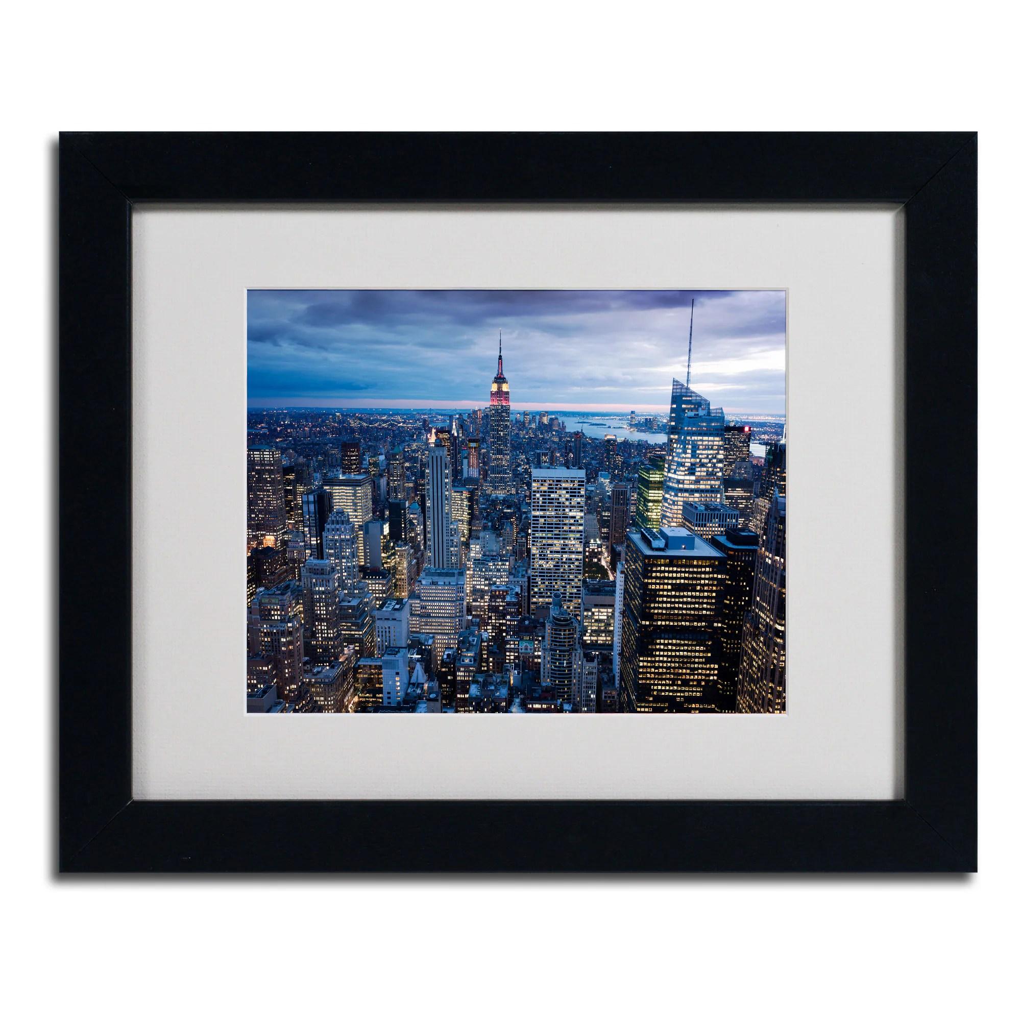 Yakov Agani 'New York City, NY' Framed Matted Art