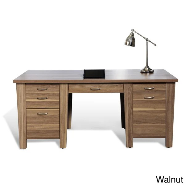 Jesper Office 900 71inch Desk with Drawers  Free