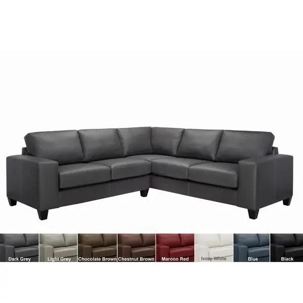 sectional sofa deals free shipping vladimir kagan shop paulina top grain italian leather on sale