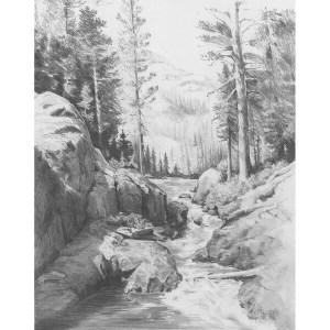 easy sketching shadow lake x12