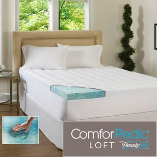 Beautyrest 4 Inch Supreme Gel Memory Foam And 15 Inch