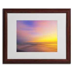 Philippe Sainte-Laudy 'Metallic Sunset' Framed Matted Art