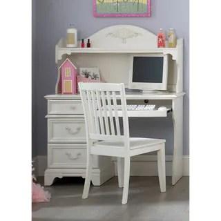 Shop Liberty Arielle Antique White Student Desk Hutch