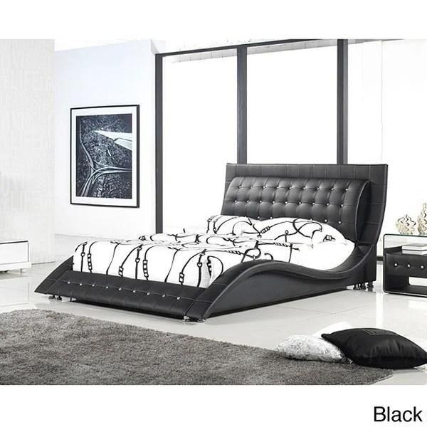 Shop Dublin Modern King Size Platform Bed  Free Shipping Today  Overstockcom  8157739