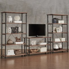 Living Room Set For Sale Cheap Design Small With Open Kitchen Shop Myra Vintage Industrial Modern Rustic 3-piece Tv ...