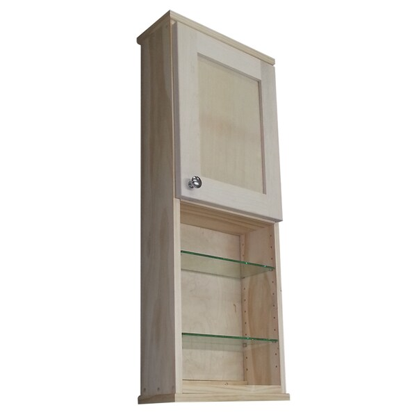 Shop Shaker Series 36inch Unfinished 55inch Deep Inside 18inch Open Shelf On The Wall
