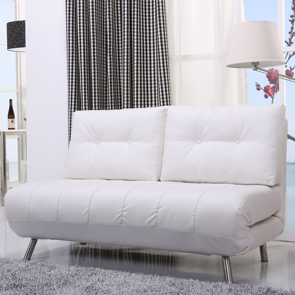 tampa futon sofa bed english roll arm furniture gold sparrow white convertible loveseat sleeper ...