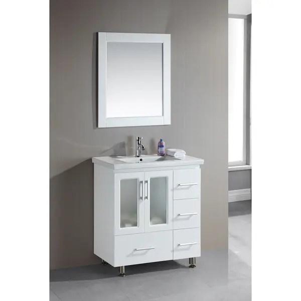 Shop Design Element Stanton 32inch Single Dropin Sink
