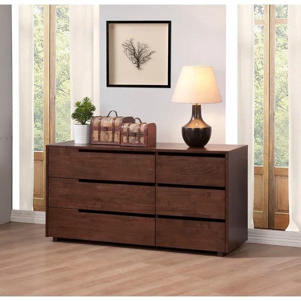 Burke 6drawer Bedroom Dresser  80005137  Overstock