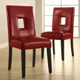 red leather dining room chairs | best chair design ideas