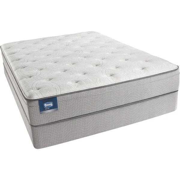 Simmons Beautyrest Kenosha Plush King Size Mattress Set Free Shipping Today 15559222