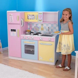 kidkraft large pastel play kitchen Kitchens & Play Food - Shop The Best Deals For Feb 2017