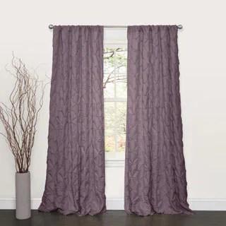 Exclusive Fabrics Blackout Thermal Aubergine Curtain Panel Pair