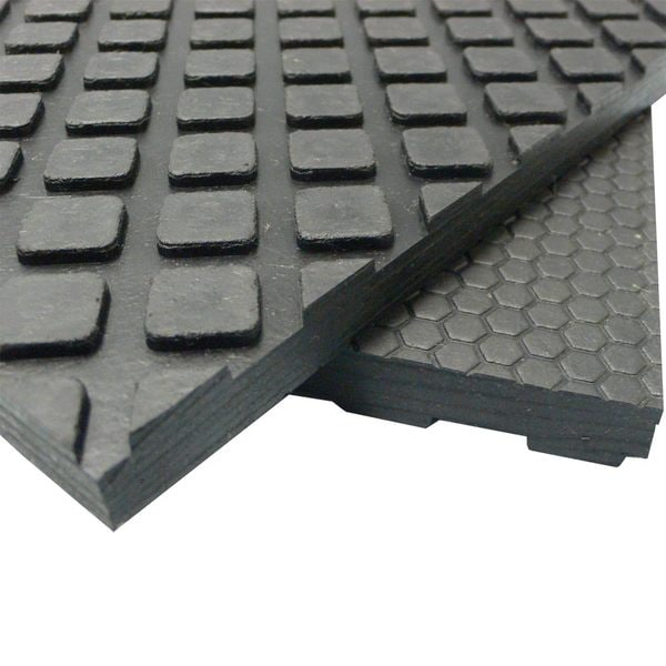 RubberCal MaxxTuff Floor Protection Mats  12 Thick