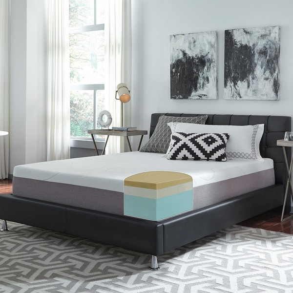 Slumber Solutions Choose Your Comfort 12 Inch Full Size Memory Foam Mattress