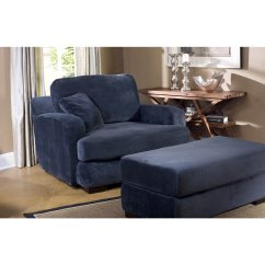 Navy Blue Chair With Ottoman Steel To The Head Pdf Fairmont Designs Made Order Melanie And