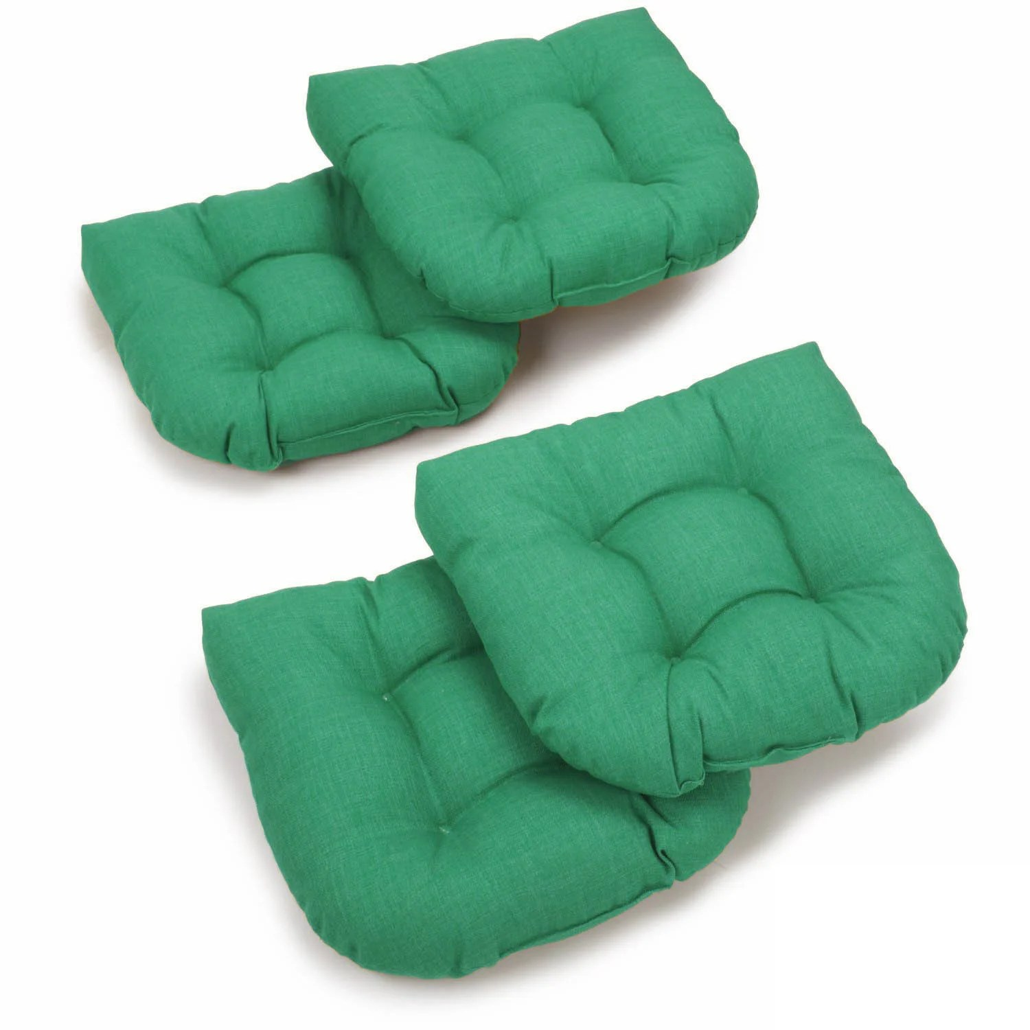 outdoor chair cushions set of 4 stack chairs cheap blazing needles spun poly rocker