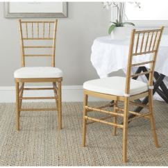 Gold Dining Chairs Hanging Chair Cad Block Shop Safavieh Country Classic Carly Set Of 2