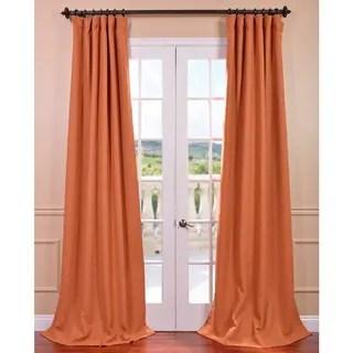 Exclusive Fabrics Mandarin Bellino Blackout Curtain Free