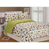 Shop Noah Dinosaur Printed Microplush 3-piece Comforter ...