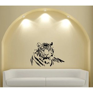 'Great Nice Wild Tiger' Vinyl Decal Wall Art Mural