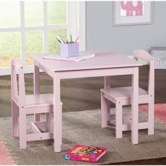 Kids Chair Set Amazon Tables And Chairs Shop Simple Living Pink 3 Piece Hayden Table On