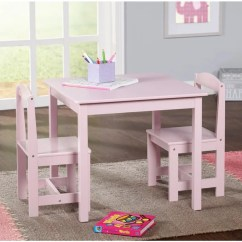 3 Piece Table And Chair Set Hanging For Home Shop Simple Living Pink Hayden Kids On