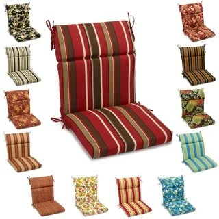 chair cushion cover wingback covers designer buy outdoor cushions pillows online at overstock com our best blazing needles 42 inch indoor