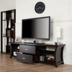 Living Room Tv Stand Glass Table Sets For Buy Painted Stands Entertainment Centers Online At Overstock Copper Grove Cataraqui Modern 2 Drawer With Open Shelving