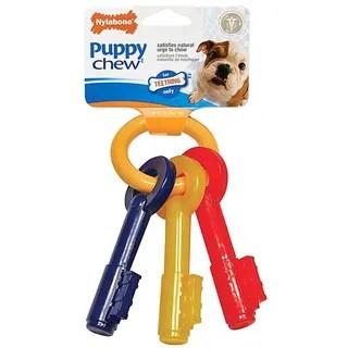Shop Nylabone Puppy Chew Teething Keys  Free Shipping On Orders Over 45  Overstockcom  8401240