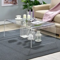Shop Clear Acrylic Coffee Table - Free Shipping Today ...