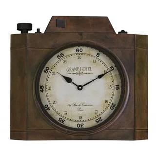 wooden kitchen clock green rug buy vintage clocks online at overstock com our best decorative accessories deals