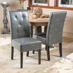 Christopher Knight Chair Masters Golf Folding Chairs Home Taylor Grey Bonded Leather Dining