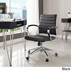 Office Chair Overstock Caravan Zero Gravity 2 Pack Jive Black Ribbed Vinyl Mid Back Executive