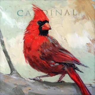 Shop Amberton Publishing Cardinal Bird Canvas Art  Free Shipping Today  Overstock  8440663
